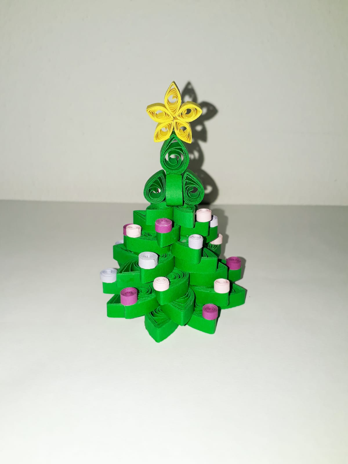 Albero Di Natale Quilling.Albero Natale Quilling Formecolori By Andr Ross